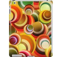 Wallpaper - retro circle background iPad Case/Skin