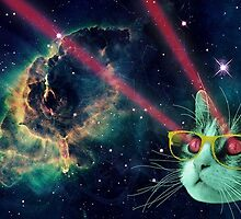 Cat in space 5 by artkid