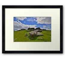 Dartmoor: Ugborough Beacon Framed Print