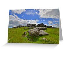 Dartmoor: Ugborough Beacon Greeting Card