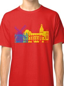 Amsterdam skyline pop Classic T-Shirt