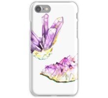 Amethyst Crystal and Geode iPhone Case/Skin