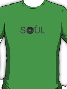 Soul Vinyl - Music Turntable T-Shirt