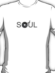 Soul Vinyl - Music Turntable T-Shirt