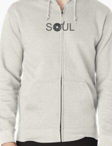 Soul Vinyl - Music Turntable Zipped Hoodie