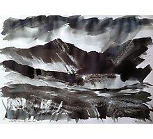 'Cadair Idris and Cwm Cau, Dolgellau' Photographic Print
