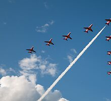 Red Arrows by David Ellins