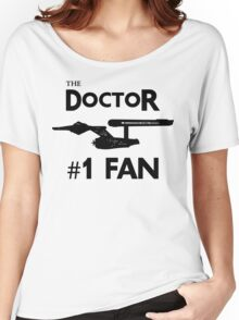 The Doctor #1 Fan Women's Relaxed Fit T-Shirt