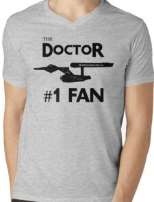 The Doctor #1 Fan Mens V-Neck T-Shirt