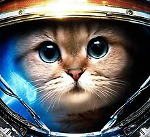 Cat in space 7 by artkid