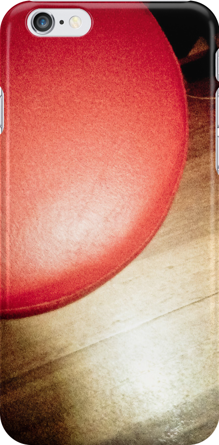 Red and Wood [ iPad / iPod / iPhone Case ] by Mauricio Santana