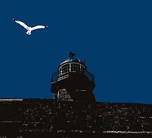 Old Light House St. Ives Cornwall by PhotoCoops