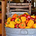 Beautiful Peppers by scenebyawoman