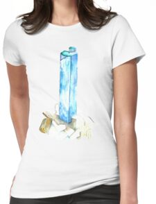Aquamarine Womens Fitted T-Shirt