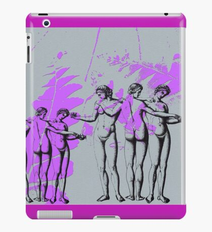 Two sets of three graces. iPad Case/Skin