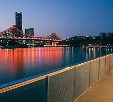 Story Bridge in Brisbane by Rob D
