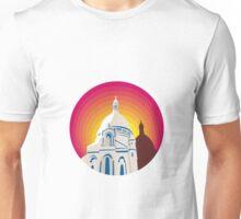 Catholic Church Dome Circle WPA Unisex T-Shirt