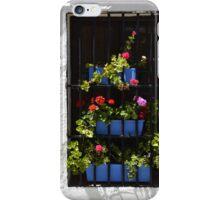 Flowerpots window iPhone Case/Skin