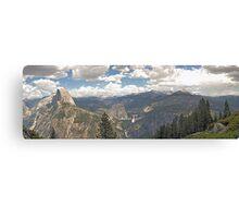 Yosemite Panorama Canvas Print