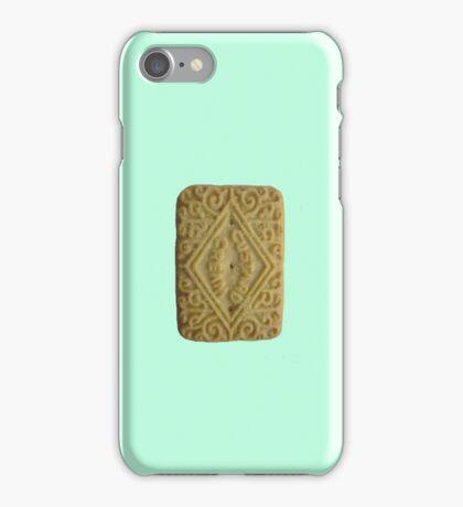 Custard Cream Light Blue S iPhone Case/Skin