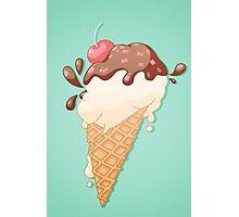 Icecream Yum! Photographic Print