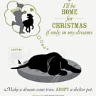 Home for Xmas - Dog by DesignLab