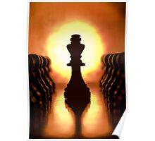 Chess set Poster