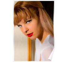 Portrait of Megan Poster