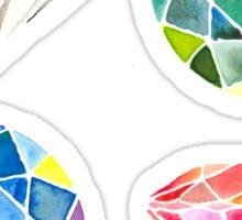 Watercolor Diamonds – April Birthstone Sticker