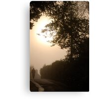 Early Misty November Morning, Ambleside .. Canvas Print