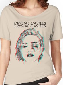 Crystal Castles Alice Face Women's Relaxed Fit T-Shirt