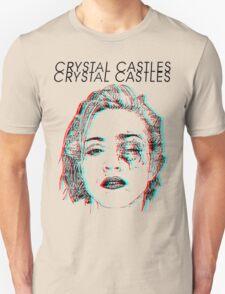 Crystal Castles Alice Face T-Shirt