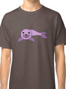 Light Purple Baby Seal Classic T-Shirt