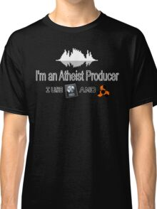 "Atheist Producer (Black) - ""I use Logic and Reason"" Classic T-Shirt"