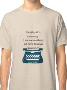 John Fante's typewriter Classic T-Shirt