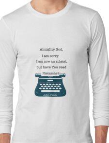 John Fante's typewriter Long Sleeve T-Shirt