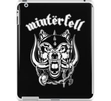 Winterfell Rules! iPad Case/Skin