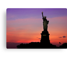 Statue of Liberty NYC Canvas Print