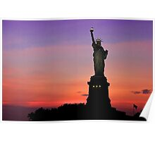 Statue of Liberty NYC Poster