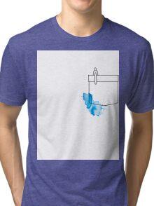 Shirt Pocket Tri-blend T-Shirt