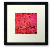 Listen, original oil on linen Framed Print