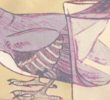 Tequila Mockingbird - minimal Sticker