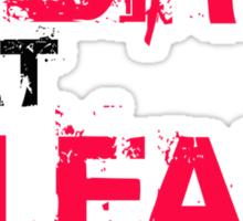 Train Dirty - Eat Clean - Kay&Em Designs Sticker