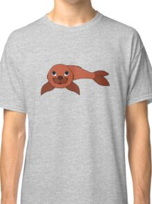 Red Baby Seal Classic T-Shirt