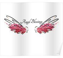 Archangel Ariel: Angel Blessings Poster