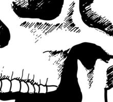 demonic skull Sticker