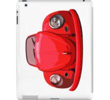 Red Vdub iPad Case iPad Case/Skin