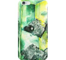 Watercolor Emerald – May Birthstone iPhone Case/Skin