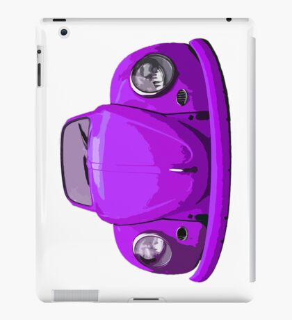 Purple Vdub iPad Case iPad Case/Skin