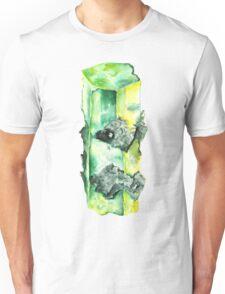 Watercolor Emerald – May Birthstone Unisex T-Shirt